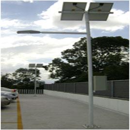 Postes Solares Para Alumbrado Publico